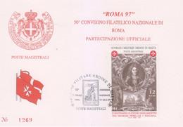 Sovrano Militare Ordine Di Malta - S.M.O.M. 1997 UnN°518 (/\ O) (vedere Scansione) - Malte (Ordre De)