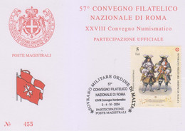 Sovrano Militare Ordine Di Malta - S.M.O.M. 2004 UnN°758 (/\ O) (vedere Scansione) - Malte (Ordre De)