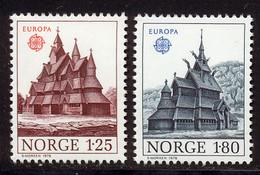 Norvege 1978 Yvert 725 / 726 ** TB Bord De Feuille - Ungebraucht