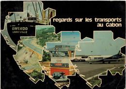 Regards Sur Les Transports Au Gabon Années 70/80 édition Cape Paris - Géographie