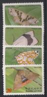 Taiwan - 2003 - N°Yv. 2771 à 2774 - Papillons / Butterflies - Neuf Luxe ** / MNH / Postfrisch - Schmetterlinge