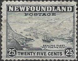 NEWFOUNDLAND 1932 Sealing Fleet - 25c - Grey MNG - 1908-1947