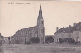 CPA - 72 LA SUZE Sur SARTHE - L'Église - La Suze Sur Sarthe