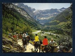 Gavarnie (Alt. 1357 M.) - Sur La Route Du Cirque - Gavarnie