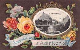 SOUVENIR D'ADINKERKE - LE PONT TOURNANT - 1919 ~ AN OLD POSTCARD #213123 - De Panne