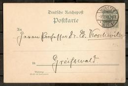 ALEMANIA IMPERIO. 1891. MÜNSTER - Enteros Postales