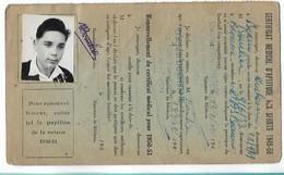 Beaune - Licence De Football - Association Sportive Beaunoise - 1949/50 Bourlier Michel - Altri