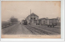 FEUCHEROLLES : La Gare Du Tramway - Très Bon état - Altri Comuni