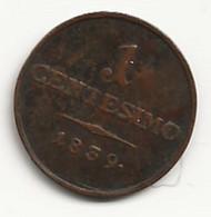 ITALIE - Lombardie - Centesimo - 1839 V - TB/TTB - Lombardie-Vénétie