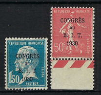 FRANCE 1930: Les Y&T 264-265, Neufs** - Nuovi