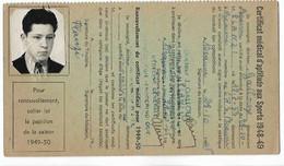 Beaune - Licence De Football - Association Sportive Beaunoise - 1948/49 Planzy Serge - Altri
