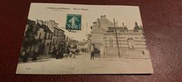 Ancienne Carte Postale - Chatillon Sous Bagneux - Rue Du Ponceau - Châtillon
