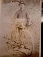 Armee Du Salut,  Valence, Drome, Photo D'un Cycliste Mort à Gap En 1927 - Zonder Classificatie