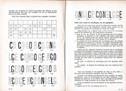 2 Scans Revue Les Surcharges Typographiques Congo Belge - Ohne Zuordnung