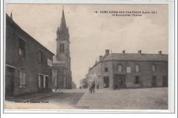 SAINT AUBIN DES CHATEAUX : Le Bourg Près De L'église - Très Bon état - Altri Comuni