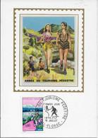 1er JOUR 1972 ANNEE DU TOURISME PEDESTRE - 1970-1979