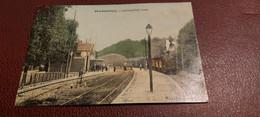 Ancienne Carte Postale - Charbonniéres - Arrivée D'un Train - Sonstige Gemeinden
