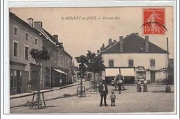 SAINT BONNET DE JOUX : Grande Rue - Très Bon - Sonstige Gemeinden