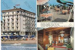CARTOLINA  LIDO DI JESOLO,VENEZIA,VENETO,HOTEL FARO,SPIAGGIA,LUNGOMARE,VACANZA,ESTATE,BAGNI,BELLA ITALIA,NON VIAGGIATA - Venezia (Venice)