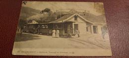 Ancienne Carte Postale - Remiremont - Station Des Tramways De Gerardmer - Remiremont