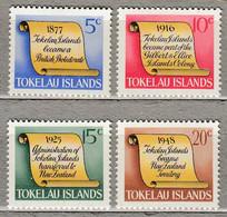 TOKELAU 1969 History MH Mi 9-12 #27923 - Tokelau