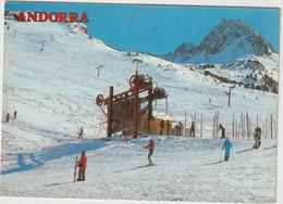 Seb : Andorre - Andorra : Vue Pistes De  Ski De Grau Roig - Andorre