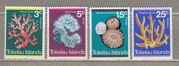 TOKELAU 1973 Corals MH Mi 30-33 #27927 - Tokelau