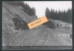 Construction Ligne Frasne-Vallorbe - Tranchée Du Mont La Croix - 29 Août 1912 - Reproduction - Non Classificati