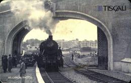 USATE  Tiscali  Steam Locomotive 735 210 - Unclassified