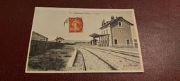 Ancienne Carte Postale - Brignais - La Gare - Brignais