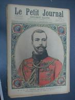 Le Petit Journal N°208 - 11 NOV 1894 - Russie - PRINCE NICOLAS II ALEXANDROVITCH - ROMANOV - Alexandre III Empereur - 1850 - 1899