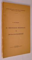 B0939[Boek] De Merovingische Begraafplaats Te Sint-Gillis-bij-Dendermonde / A. Van Doorselaer [archeologie Geschiedenis - History