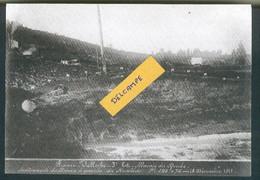 Construction Ligne Frasne-Vallorbe -Soulèvement Du Marais à Labergement-Sainte-Marie - 18 Décembre 1911 - Reproduction - Non Classificati
