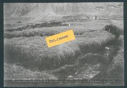 Construction Ligne Frasne-Vallorbe -Marais De Ste Marie - Crevasses à Droite - 7 Janvier 1913 - Reproduction - Non Classificati