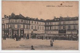 AUCH : Le Départ Du Train Renard- Très Bon état - Auch