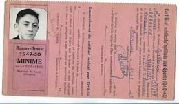 Beaune - Licence De Football - Association Sportive Beaunoise - 1948/49 Perrier Pierre - Altri