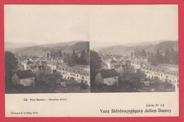 CPA-64- MAULÉON-SOULE *Vue Stéréoscopique Julien Damoy -N° 12 Série 12 TBE**Scan Recto/Verso - Cartoline Stereoscopiche