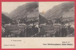 CPA-65- Vallée De GÈDRE - *Vue Stéréoscopique Julien Damoy -N° 3 Série 11* TBE**Scan Recto/Verso - Cartoline Stereoscopiche