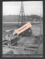 Construction Ligne Frasne-Vallorbe -P.M. De 20m D'ouverture - Palplanches  Carnégie - 26 Septembre 1912 - Reproduction - Non Classificati
