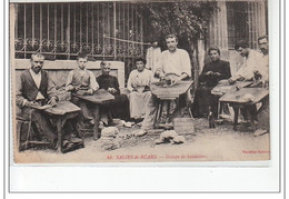 SALIES DE BEARN - Groupe De Sandaliers - Très Bon état - Salies De Bearn