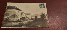 Ancienne Carte Postale - écot - Bas Du Village Et Café Iréné Cordier - Sonstige Gemeinden