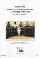 REPERTPOIRE DES CARTES POSTALES DES VALLEES D'ANDORRE 1921-1932 - Andorre