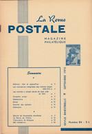Revue Postale : Les Cachets à Simple Cercle - Les Inscriptions Marginales Des Timbres Belges 1858-1914 .... - Other