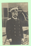 K1107 - RUSSIE - S.M LE CZAR - En Uniforme - Tsar Nicolas II - Rusland
