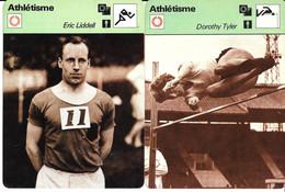 GF1904 - FICHES RENCONTRE - CHRISTOPHER CHATAWAY - DEREK IBBOTSON - ERIC LIDDELL - DOROTHY TYLER - Athletics
