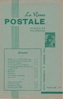 Revue Postale : Les Faux Sperati Du 5 F Léopold II - Les Nouvelles Oblitérations Des Postes Militaires Belges Section II - Otros