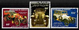 Djibouti - Aérien 1983. Série Complète Automobiles - Y&T - N° 190 à 192 (obliterés) TB. - Yibuti (1977-...)