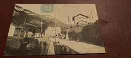 Ancienne Carte Postale - Saint Germain De Joux - Avenue De La Gare - Sonstige Gemeinden
