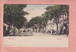 OLD POSTCARD DENMARK -     1900'S - HJORRING - OSTERGADE - Denemarken