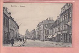 OLD POSTCARD DENMARK -      ROSKILDE - AHLGADE - Denemarken